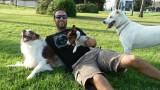 מאלף כלבים במרכז
